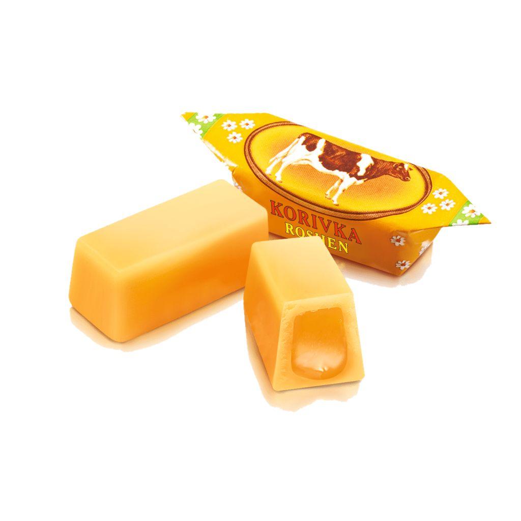 Неглазированные помадные конфеты, корпус - молочная помадка из сахарной корочки