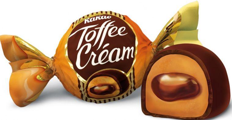 Кремовая начинка с какао, покрытая шоколадной глазурью