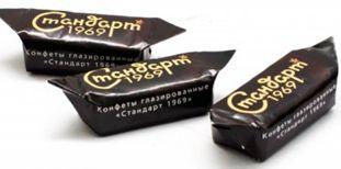 Вафельные конфеты с начинкой, глазированные