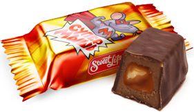Конфеты глазированные с комбинированным корпусом. Помадные конфеты с нежнейшим вкусом шоколадного мусса