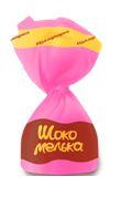 Глазированная конфета с ароматной карамельной начинкой