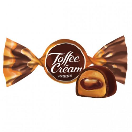 Оригинальная конфета с кремовой начинкой. Шоколадный вкус